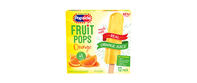 Popsicle Orange Fruit Pops coupon