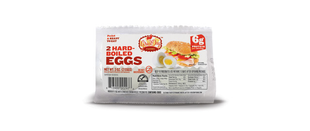 Great Day Farms Hard Boiled Eggs 2-Pack coupon