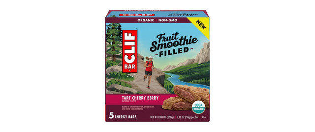 CLIF® Tart Cherry Berry Fruit Smoothie Filled Energy Bars coupon