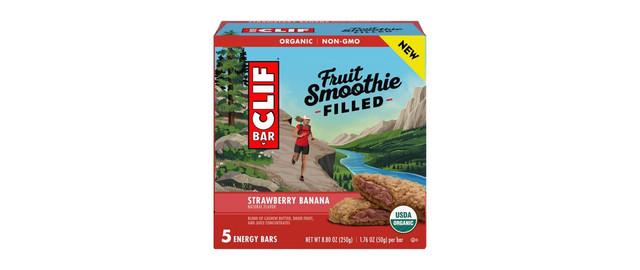 CLIF® Strawberry Banana Fruit Smoothie Filled Energy Bars coupon
