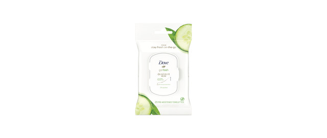 Dove Deodorant Wipes coupon