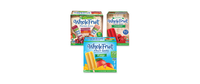 Whole Fruit® Frozen Novelties coupon