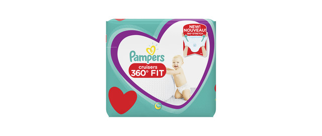 Pampers® Cruisers™ 360° FIT Diapers coupon