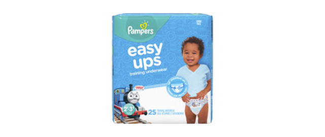Pampers® Easy Ups Training Underwear™ coupon