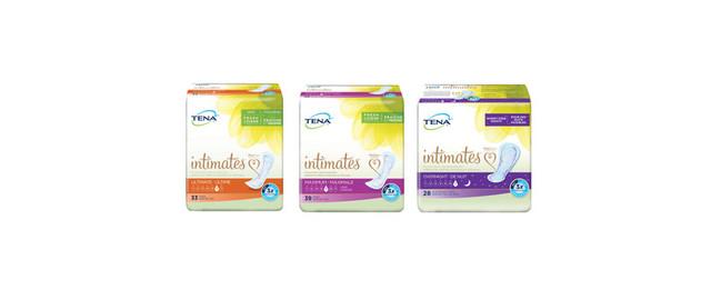 Select Tena Intimates coupon