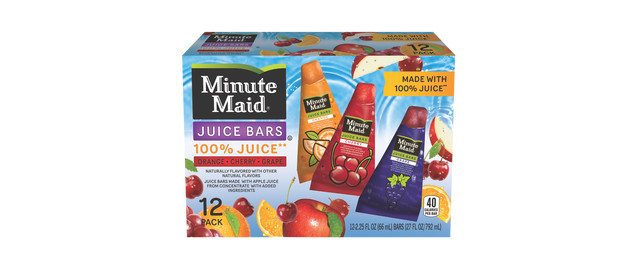 Minute Maid Frozen Novelty coupon