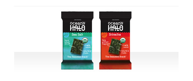 Buy 2: Ocean's Halo Sea Salt or Sriracha Seaweed Snack coupon
