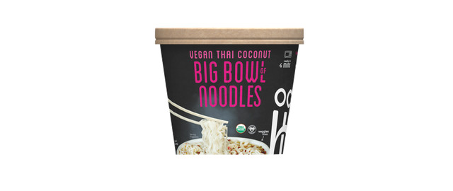 Ocean's Halo Vegan Thai Coconut Big Bowl of Noodles coupon
