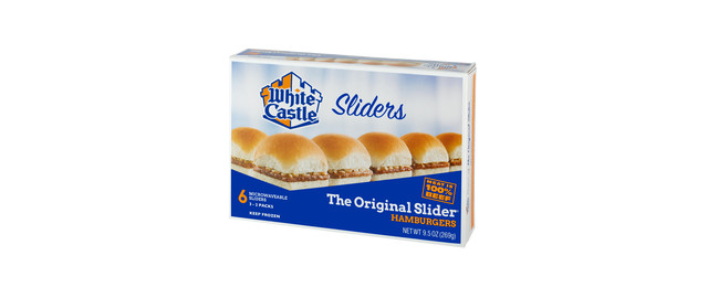 Select White Castle Sliders coupon