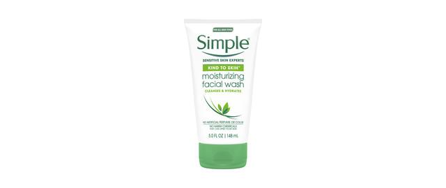 Simple Moisturizing Facial Wash coupon