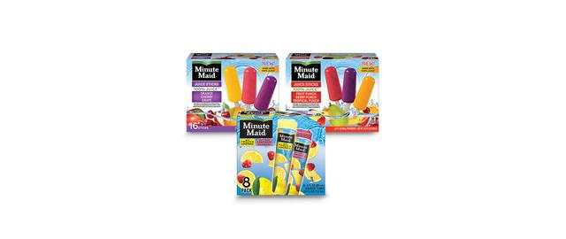 Minute Maid® Frozen Novelties coupon