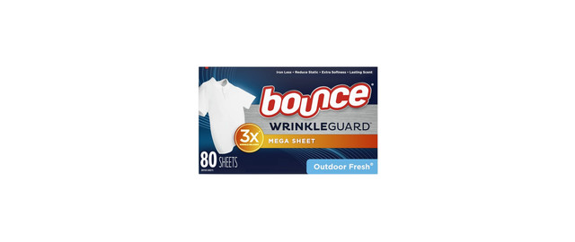 Bounce WrinkleGuard Premium Dryer Sheets coupon