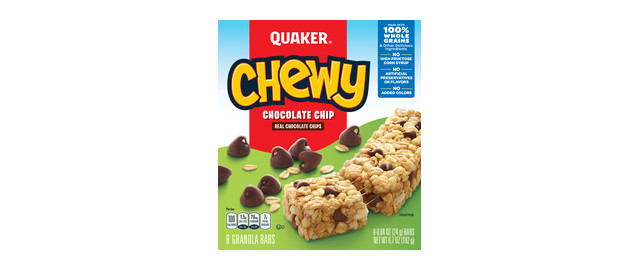 Buy 2: Quaker Chewy Granola Bars coupon