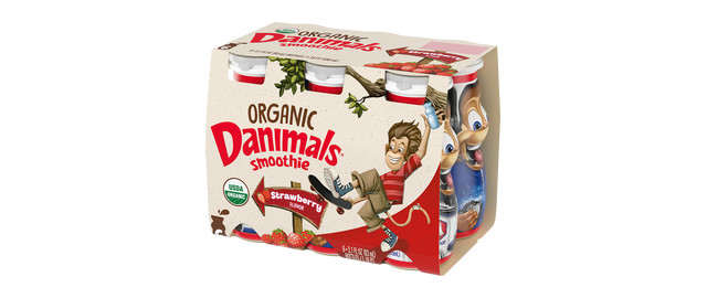 Danimals Organic Smoothies coupon