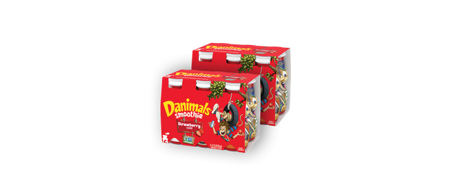 Buy 2: Danimals Non-Organic Smoothies coupon