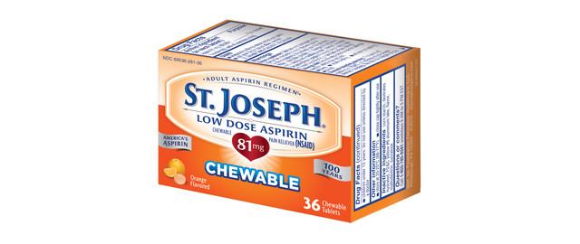 Select St. Joseph's Low Dose Aspirin coupon