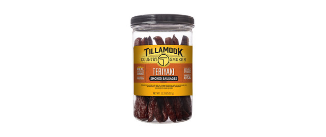 Tillamook Country Smoker Teriyaki Smoked Sausages in a Jar coupon