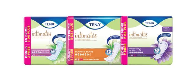 TENA intimates® coupon
