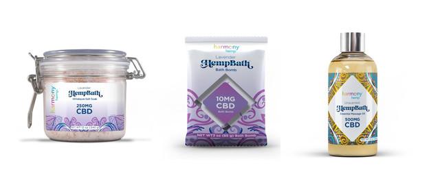 Harmony Hemp Bath Products coupon
