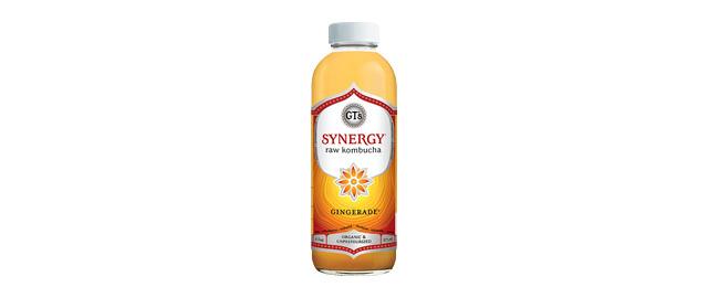 Buy 2: GT's SYNERGY Raw Kombucha Gingerade coupon